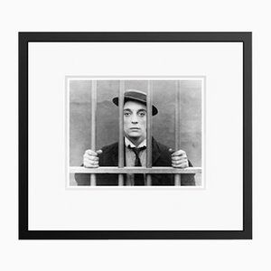 Buster Keaton in Black Frame from Galerie Prints
