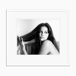 Claudia Cardinale in White Frame