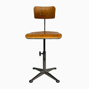Mid-Century Architects Swivel Chair by Friso Kramer for Ahrend De Cirkel