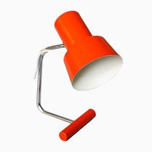 Lámpara de mesa Mid-Century roja de Josef Hurka para Napako