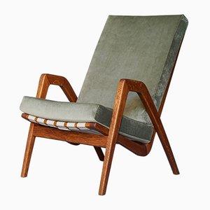 Mid-Century Armlehnstuhl von Jan Vanek für ULUV, 1960er
