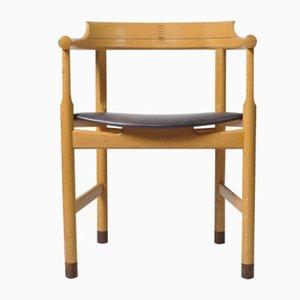 Modell PP52 Esszimmerstühle von Hans J. Wegner für PP Møbler, 1970er, 6er Set