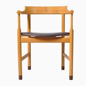 Sedia da pranzo modello PP52 di Hans J. Wegner per PP Møbler, anni '70