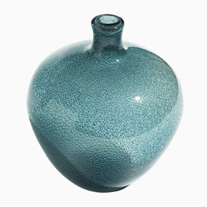 Mid-Century Swedish Bubble Vase by Erik Höglund for Boda, 1950s