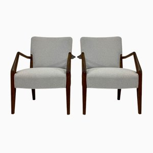 Armchairs by Peter Hvidt & Orla Mølgaard-Nielsen for France & Søn / France & Daverkosen, 1960s, Set of 2