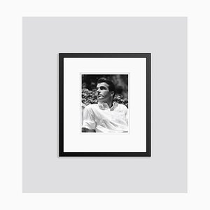Montgomery Clift in the Summer Sun 1948 Archival Pigment Print Framed in Black by Everett Collection