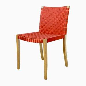 Skandinavische Esszimmerstühle von Peter Maly für Thonet, 1980er, 4er Set