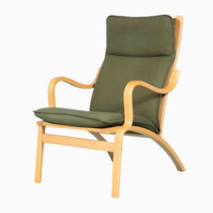 Vintage Danish Plywood Lounge Chair from Stouby, 1960s