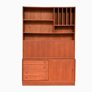 Danish Teak Wall Unit from Domino Møbler, 1960s