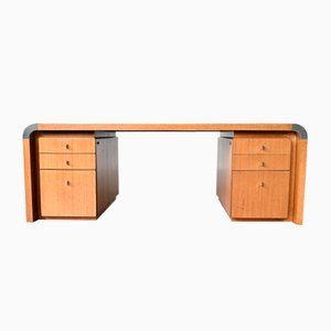 German Solid Rosewood Desk by Preben Fabricius & Jørgen Kastholm for Kill International, 1970s