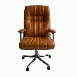 Vintage Model P128 Desk Chair by Osvaldo Borsani for Atelier of Hervé Van der Straeten, 1960s