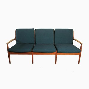 Mid-Century Danish Teak Sofa by Grete Jalk, 1960s