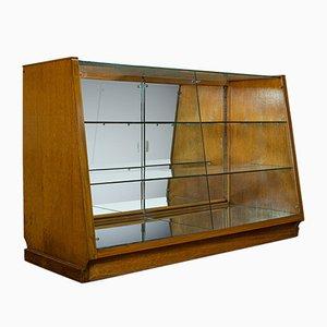 Vintage Art Deco Haberdashery Shop Display Cabinet, 1930s