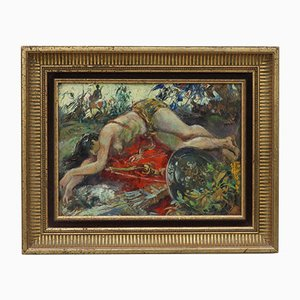 The Death of Penthesilea Ölgemälde von André Hofer