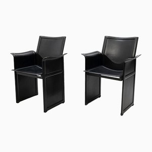 Dining Chairs by Tito Agnoli for Matteo Grassi, 1970s, Set of 8