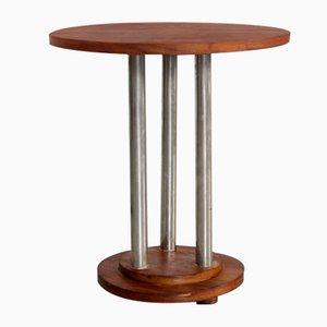 Art Deco Pedestal Nightstand, 1930s