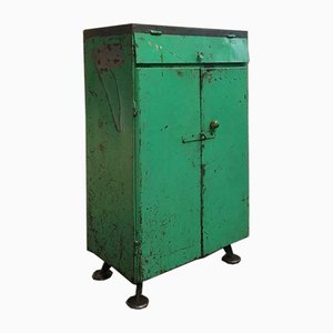Industrial Green Chest of Drawers, 1960s