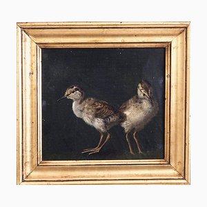 Dipinto ad olio su tela di NP Rasmussen, Danimarca, 1882