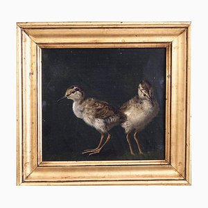 Pintura al óleo sobre lienzo de NP Rasmussen, 1882