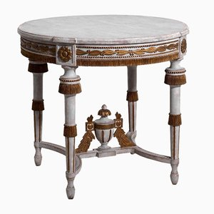 19th Century Swedish Gilted Center Table