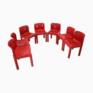 Chairs by Carlo Bartoli for Kartell, Italy, 1984, Set of 7