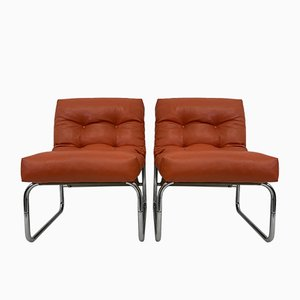 Model Pixi Lounge Chairs by Gillis Lundgren for Ikea, 1970s, Set of 2