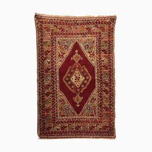 Türkischer Vintage Konya Wollteppich