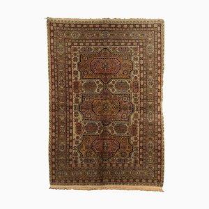 Rumänischer Vintage Erivan Teppich aus Wolle & Baumwolle