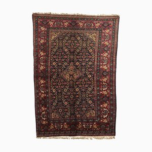 Vintage Bidjar Wool and Cotton Carpet