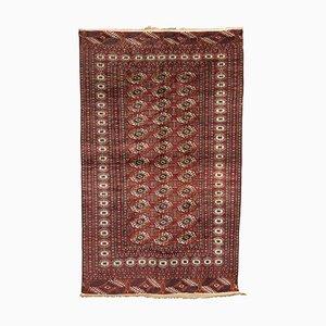 Vintage Bukhara Teppich aus Wolle & Baumwolle