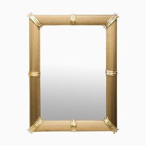 Specchio Rigatello veneziano dorato