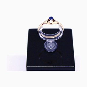 14 Carat Gold Ring with Sapphire