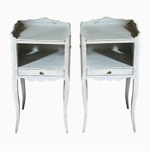 19th Century French Nightstands, Set of 2