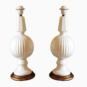 Ceramic Table Lamps from Manises, 1950s, Set of 2