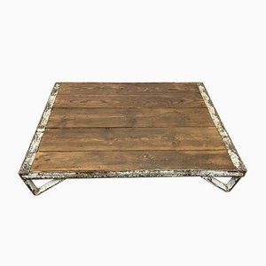Industrial Low Coffee Table, 1960s