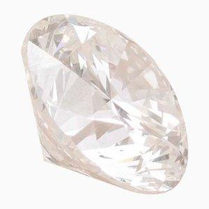 Diamante vintage redondo tallado