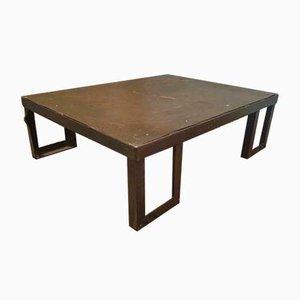 Table Basse Industrielle en Acier, 1960s