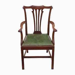 19th Century Mahogany Dining Chairs, Set of 8