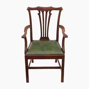 Esszimmerstühle aus Mahagoni, 19. Jh., 8er Set