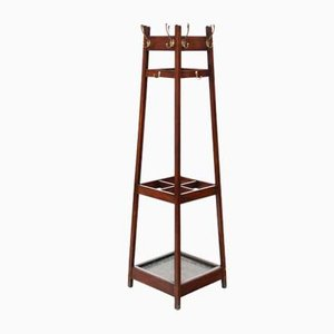 Antique Victorian Hall Coat Rack and Umbrella Stand, 1900s