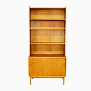 Swedish Oak Modular Bookcase, 1960s