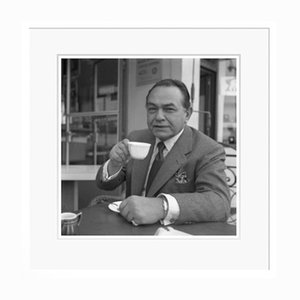 Edward G. Robinson Gangster Coffee in White Frame from Galerie Prints