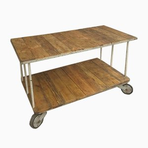 Industrial Trolley or Kitchen Island, 1960s