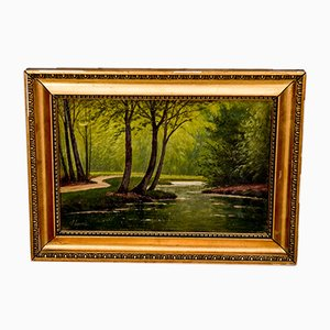 In the Forest Painting, 1940er