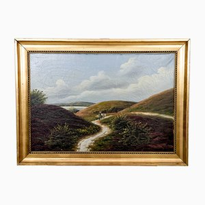 Road through the Hills Painting, 1940s