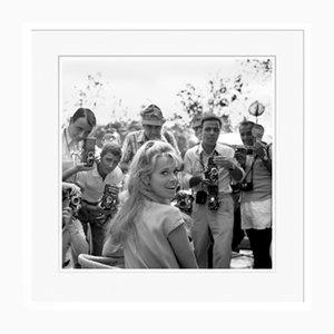 Jane Fonda in Weißem Rahmen von Galerie Prints