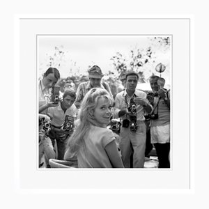 Jane Fonda in White Frame from Galerie Prints