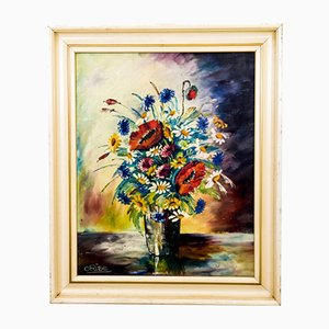 Flowers Painting, 1940s