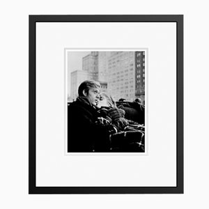 Robert Redford and Jane Fonda in Black Frame from Galerie Prints