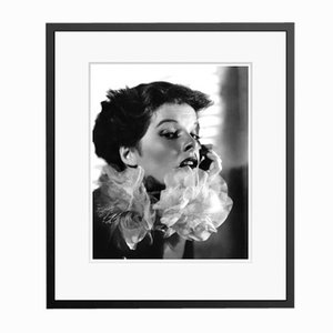 Katharine Hepburn in Black Frame by Alamy Archives